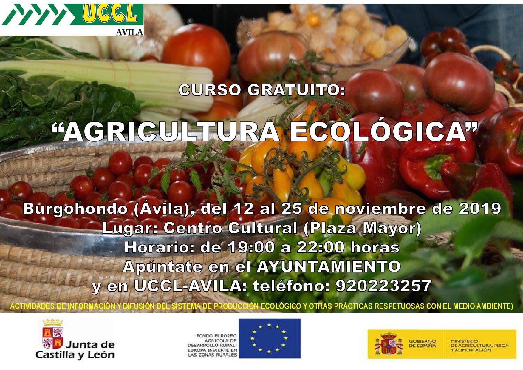 CURSO GRATUITO DE AGRICULTURA ECOLÓGICA