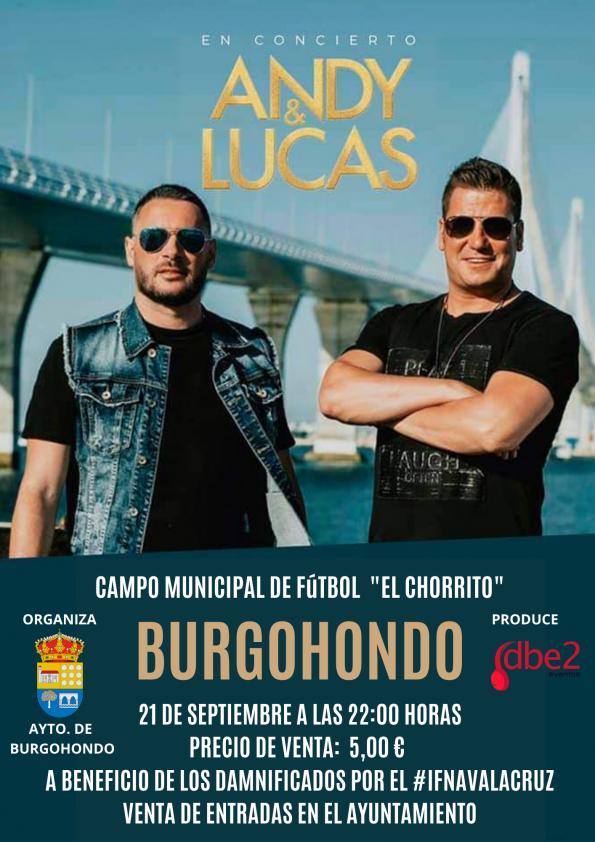 CONCIERTO DE ANDY&LUCAS